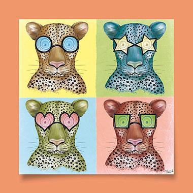 Léopard-à-lunettes-dessin-terrestre-animal