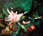 Anne Renaud // Chantilly n°1 // huile sur toile / 160 x 190 cm / 2012