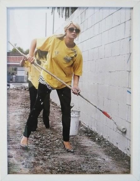 Guillaume Mathivet // Paris Hilton // tirage numérique // 2013