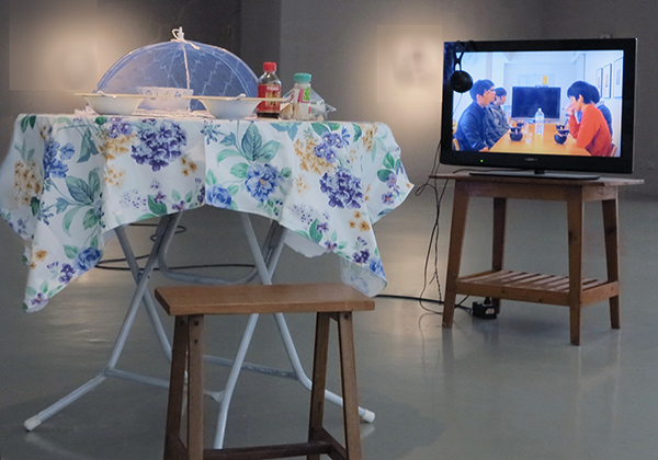 installation shot at BACC, Bangkok, Thailand November 2012-February 2013