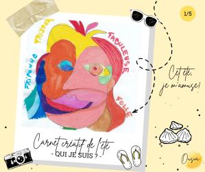 Read more about the article Carnet créatif de l'été #1 – Qui suis-je ?