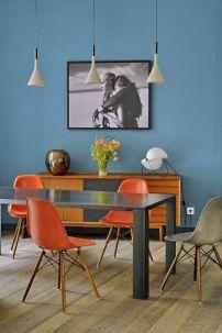 déco vintage avec chaise eames