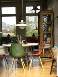 déco vintage avec chaise rétro