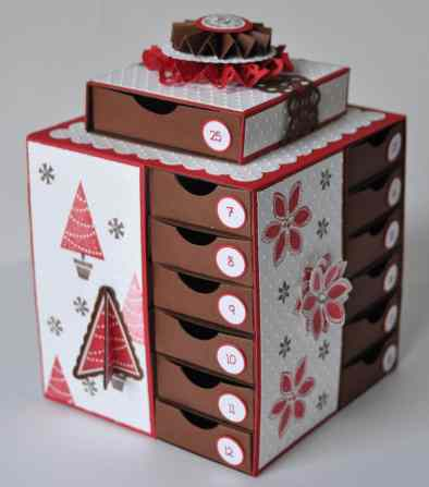 Calendrier de l'avent Scrap Stampin up 2011 3
