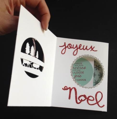 CARTE DE NOEL PIVOTANTE 2015 4