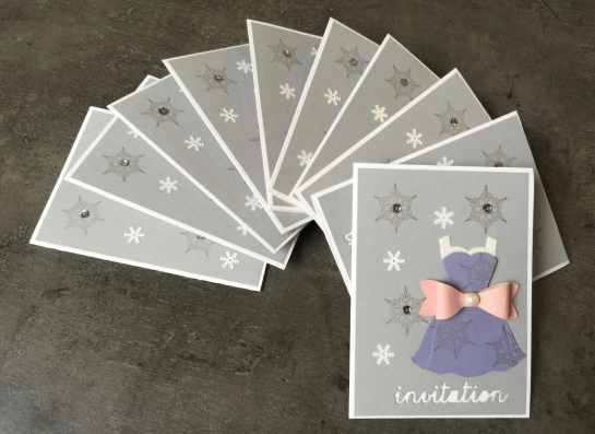 CARTES D'INVITATION CLAUDIA 2016 03 1