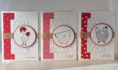 Cartes de Pâques Mon poussin avec le bloc de papier de la série Design Avec amour et le set de tampons Sale a bration 2017 Mon Poussin par Marie Meyer Stampin up - http://ateliers-scrapbooking.fr/ - Hey, chick stamps - Sending Love Designer Series Paper Stack - Das gelbe vom Ei Stempel - Designerpapier im Block Liebe Grüße