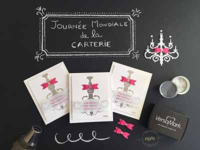 Cartes pour la Journée Mondiale de la carterie – Set de tampons Fêtes brillantes, Set de tampons Resplendissante, Thinlits Lustre par Marie Meyer Stampin up - http://ateliers-scrapbooking.fr/ - Word Card Making Day, Season To Sparkle Stamp Set, Beautiful You Stamp Set Chandelier Thinlits Dies -Weltkartenbasteltag, Festliche Grüße Stempel, Mit Stil Stempel, Kronleuchter Thinlits Formen