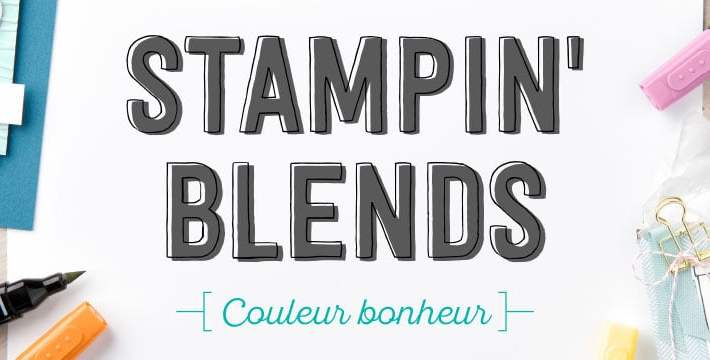 Les marqueurs Stampin'Blends