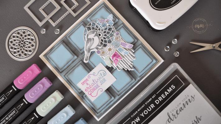 Carte anniversaire tablette de chocolat Follow your Dreams