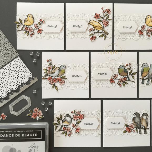 Cartes de remerciements Ballade des Oiseaux 2019 5