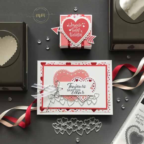 Carte portefeuille Saint Valentin Papier Design Du fond du coeur 2020 7