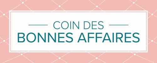 COIN DES BONNES AFFAIRES STAMPIN UP