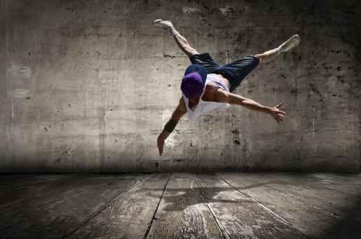 active agility dancer dancing