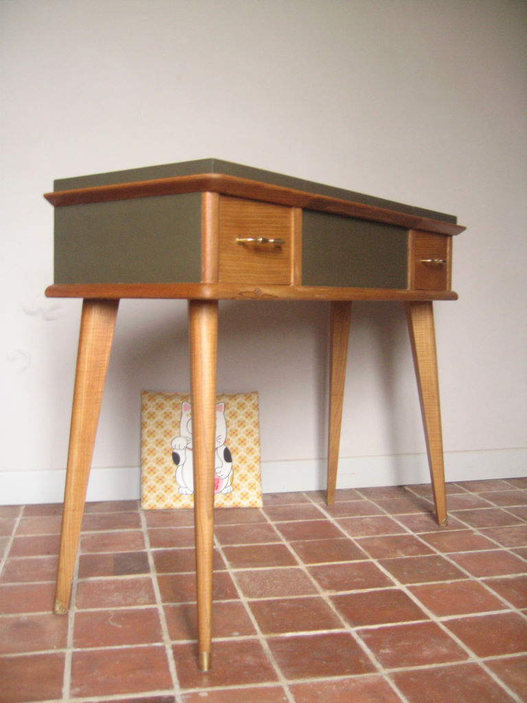 Coiffeuse Console Vintage Annes 50 Vendu Atelier