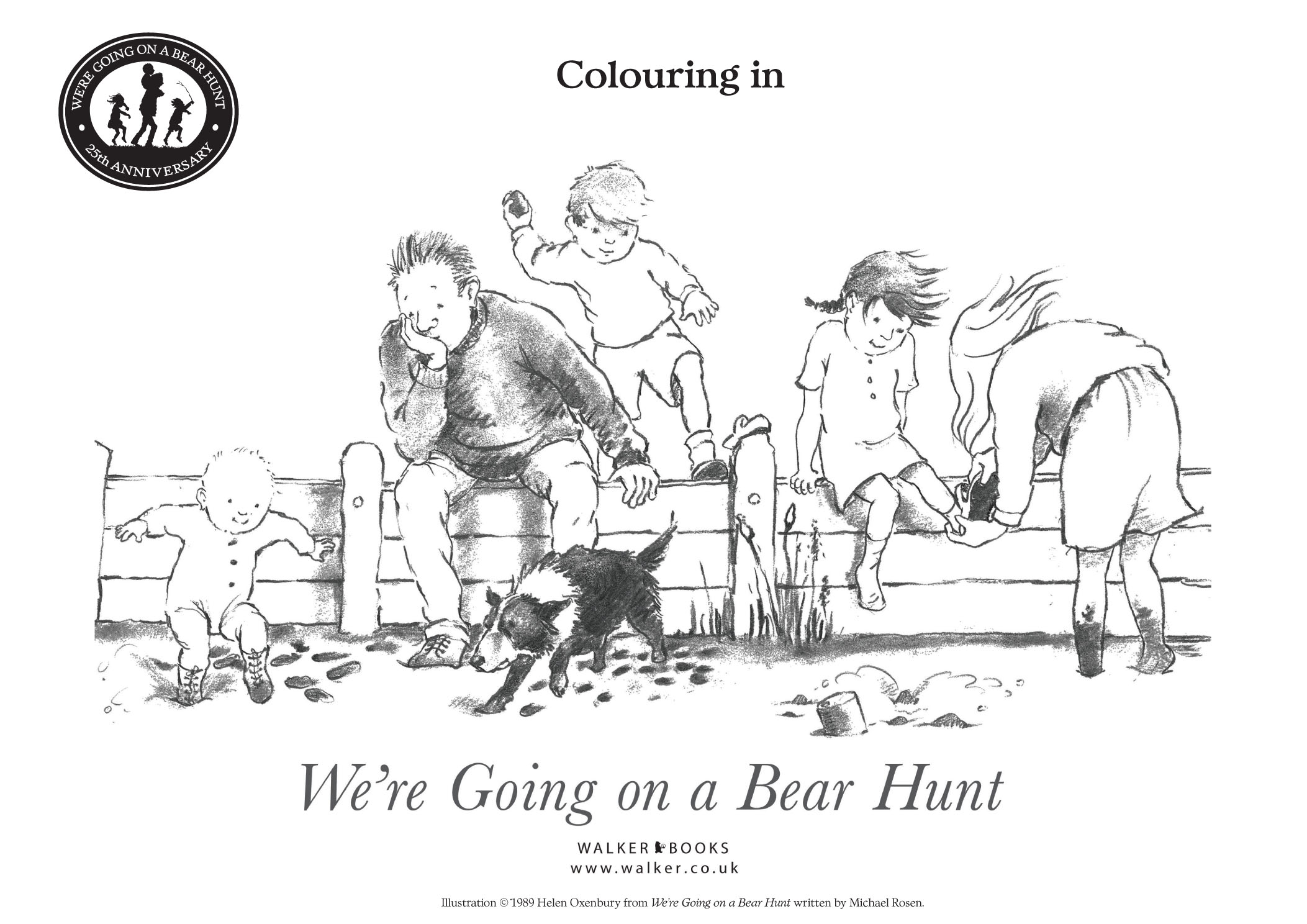 We Are Going For A Bear Hunt Worksheet  Printable Worksheets and