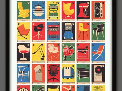 Design Classics poster by 67 Inc