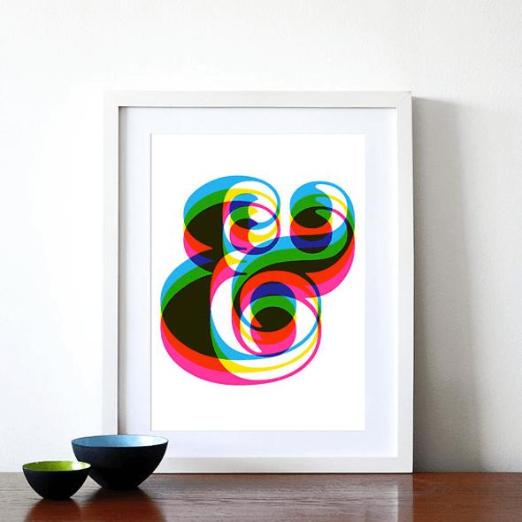 Ampersand-poster-yumalum-etsy