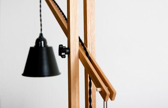 Steuart Padwick sticks desk light 2 benchmark furniture