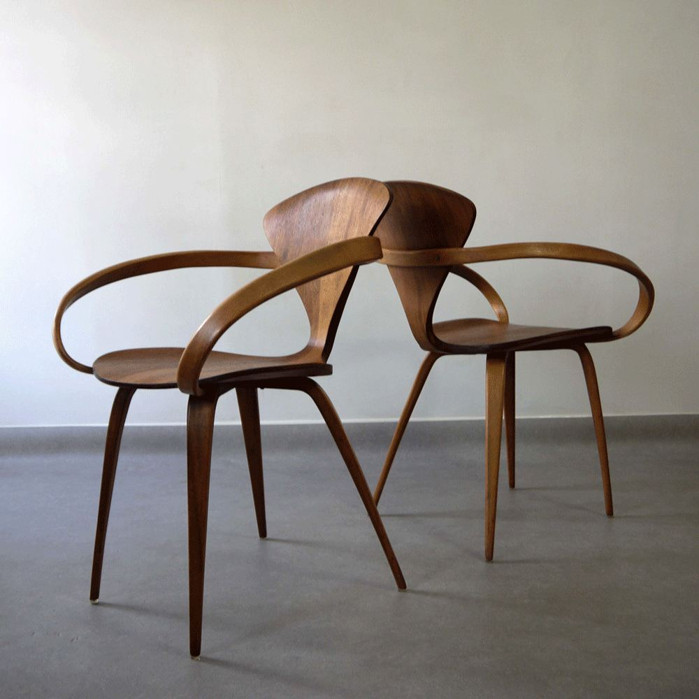 Cherner Chair By Norman Cherner 1958 Atelier Tally