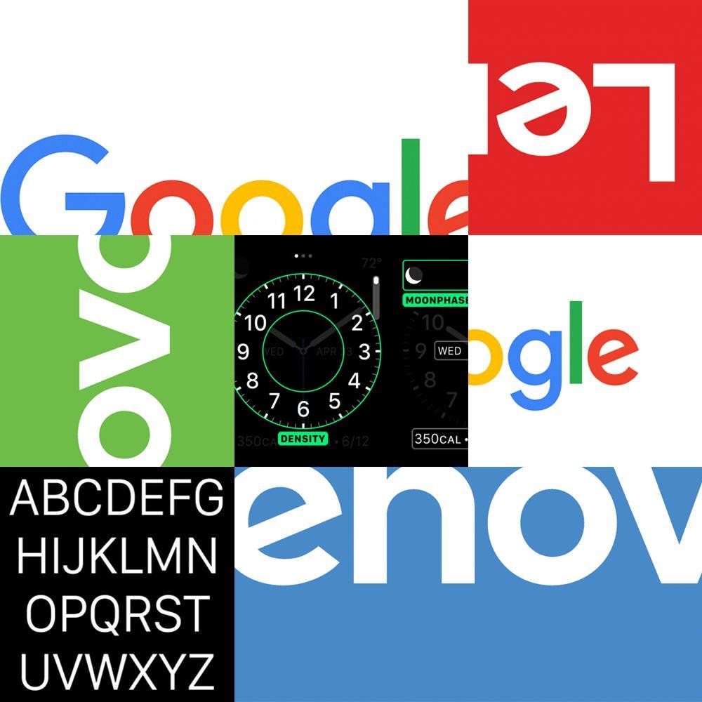 google-lenovo-apple-fonts-logos