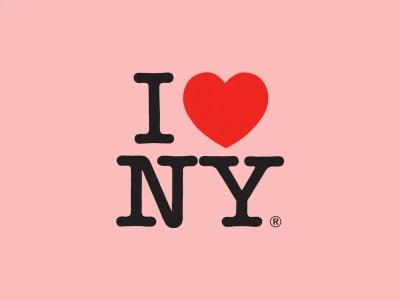 I <3 Milton Glaser's New York logo