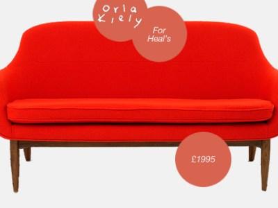 The Lusk Sofa by Orla Kiely