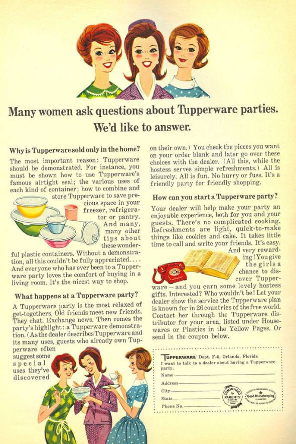 tupperware-party-questions