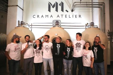 Prezentarea colectiei de tricouri Wine Rulz by M1, eveniment care a avut loc in Crama Atelier pe 10 octombrie 2014.