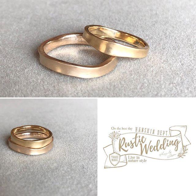 RusticWedding,結婚指輪、アトリエ・nest 、阪神梅田、熊本、ブライダル