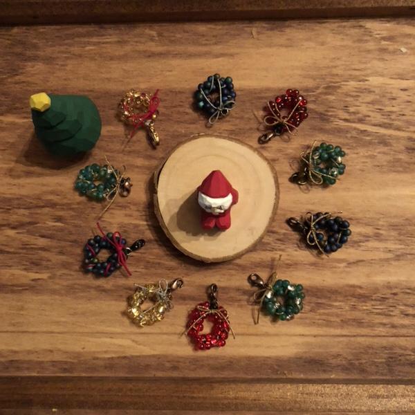 クリスマスリースチャーム、クリスマスマーケット天草、アトリエ・nest 、熊本