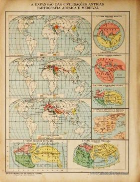 A Expansão das Civilizações Antigas Cartograficas Arcaica e Medieval «€5.00»