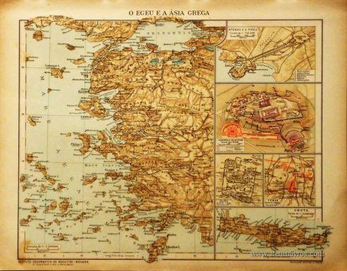 O Egeu a Ásia Grega «€5.00»