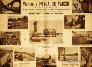Visitem a Póvoa de Varzim e seus Arredores «Importante centro Turístico» «€35.00»