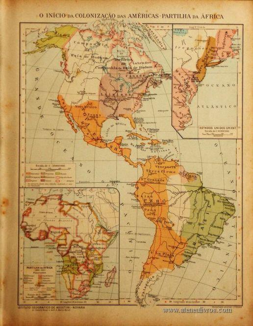 O Início da Colonização das Américas - Partilha da África «€5.00»