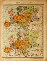 A Europa em 1492 e em 1559 «€5.00»