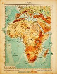 África - Mapa Físico «€5.00»