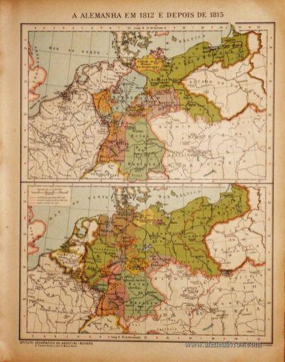 A Alemanha em 1812 e depois de 1815 «€5.00»