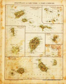 Arquipélago de Cabo Verde - S.Tomé e Príncipe «€5.00»