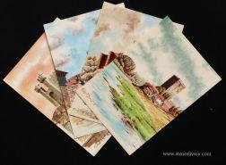 [4] Postais - Castelos e Fortalezas de Portugal - «€4.00»