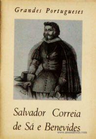 J. Estêvão Pinto – Salvador Correia de Sá e Benevides - Grandes Portugueses - «€5.00»