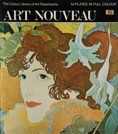 Martin Battersby – Art Nouveau – Hamlyn – 1971. Desc. 53 pág / 27 cm x 23,5 cm / Br. Ilust «€10.00»