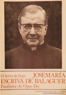Boletim n.º 7 - Fundação do Opus Dei - 1988 - «€5.00»