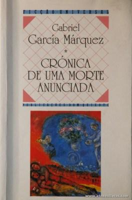 Gabriel Garcia Marquez - Crónica e uma Morte Anunciada «€5.00»