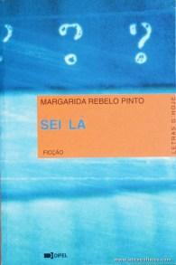 Margarida rebelo Pinto - Sei Lá «€5.00»