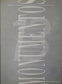 (13) - Monumentos - Revista de Edifícios e Monumentos - Sé de Viseu e Envolvente - Direcção Geral dos Edifícios e Monumentos - Ministério das Obras Publicas, Transportes e Comunicação - Lisboa - Setembro de 2000. Desc.[174] pág / 32 cm x 24 cm / Br. «€10.00»