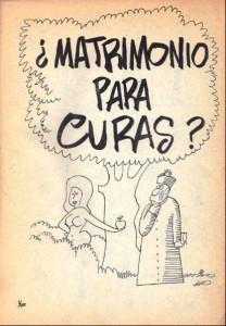 Matrimonio para curas
