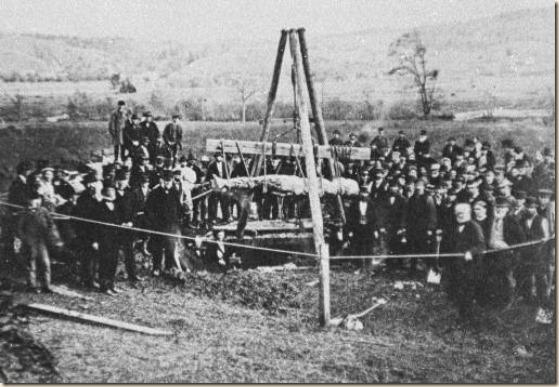 Cardiff_giant_exhumed_1869