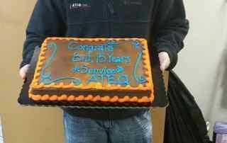 Bill Whitlow celebrates anniversary, ATEQ Corp.