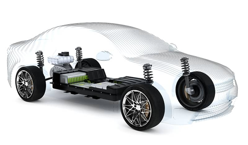 leak testing large, flexible parts like an ev battery housing using ATEQ's Differential Noise cancelling technology.